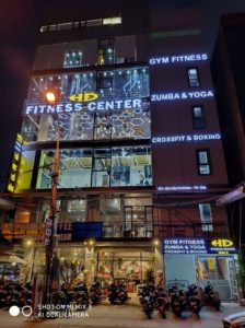 Setup phòng Gym HD Fitness center 2