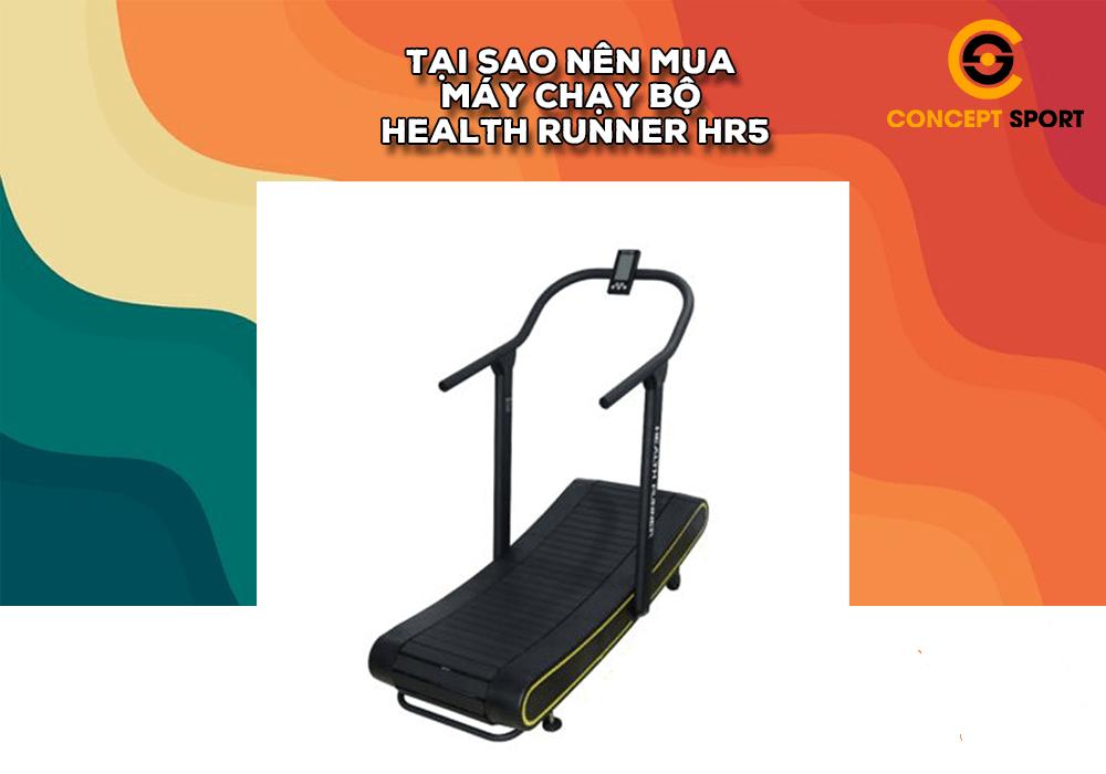 Máy Chạy Bộ Đường Cong Health Runner HR5