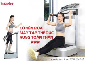 máy tập thể dục rung toàn thân