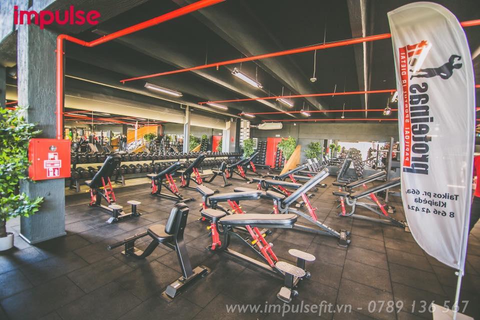 Setup phòng gym 500 triệu