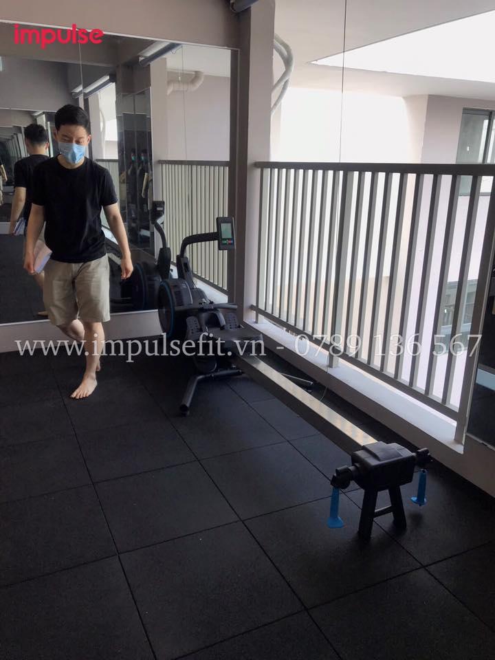 setup phòng gym tại nhà