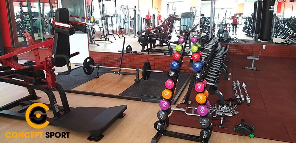 Setup phòng gym A&E Gym