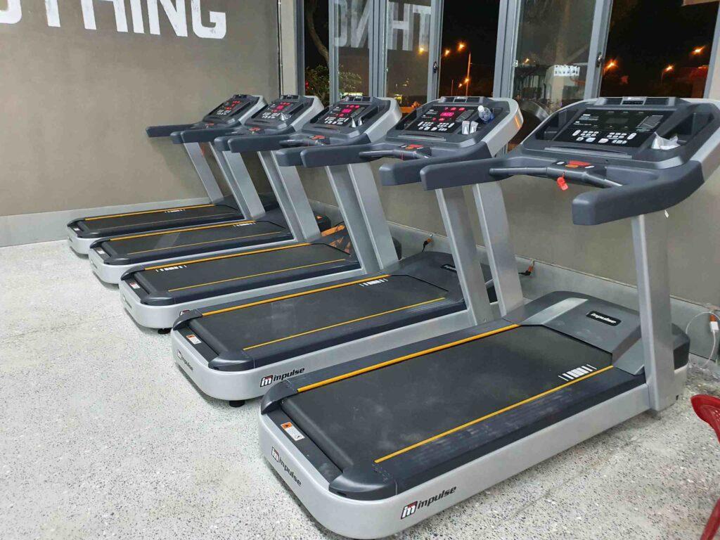 dự án setup phòng gym kiến gym tại đà nẵng