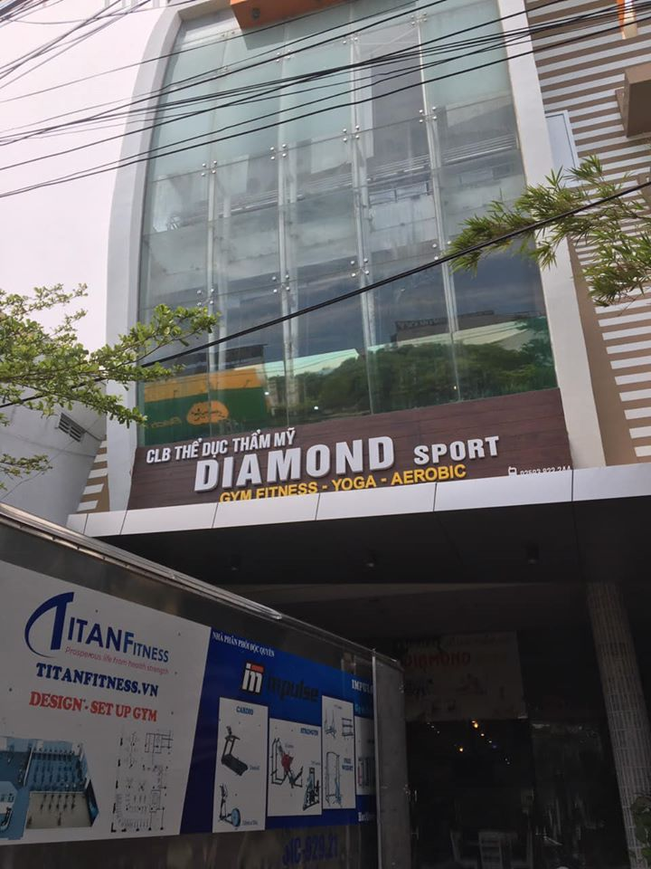 setup phòng gym thể thao kim cương
