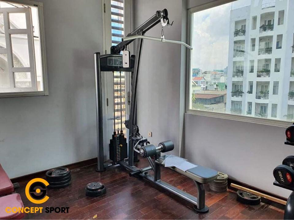 dự án setup phòng gym tại nhà 07