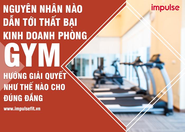 Thất bại kinh doanh phòng gym