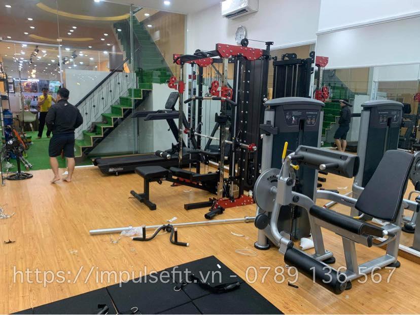 dự án setup phòng gym
