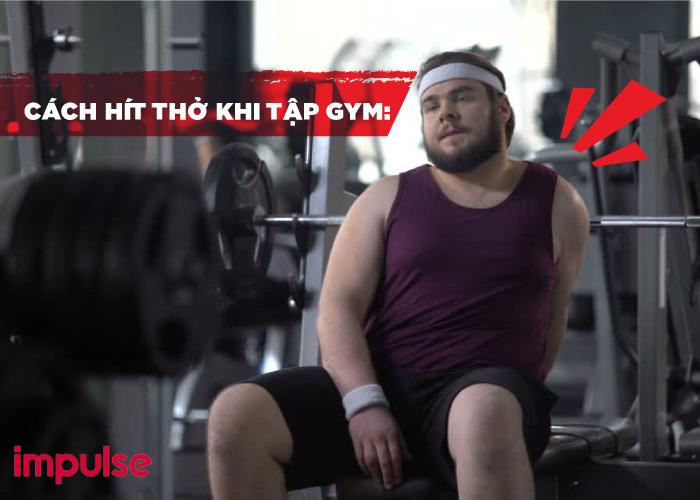 cách hít thở cho người mới tập gym
