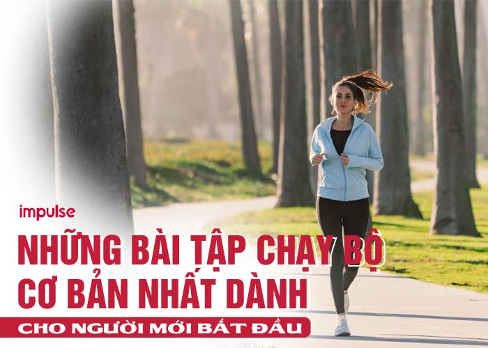 bài tập chạy bộ cho người mới