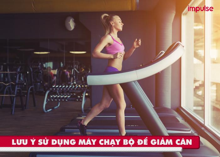cách giảm cân với máy chạy bộ