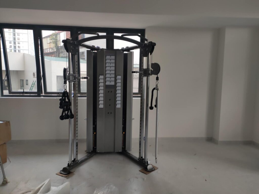 setup phòng gym CENTUM WEALTH