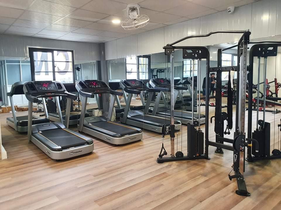 dự án setup phòng gym OUR LATEST PROJECT - HOTEL GYM