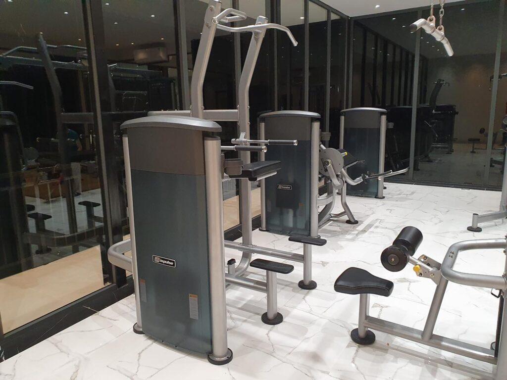 setup phòng gym khu du lịch thủy châu