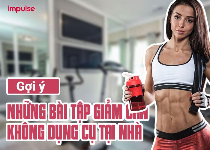 bài tập gym giảm cân không dụng cụ