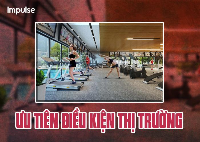 vị trí kinh doanh phòng gym