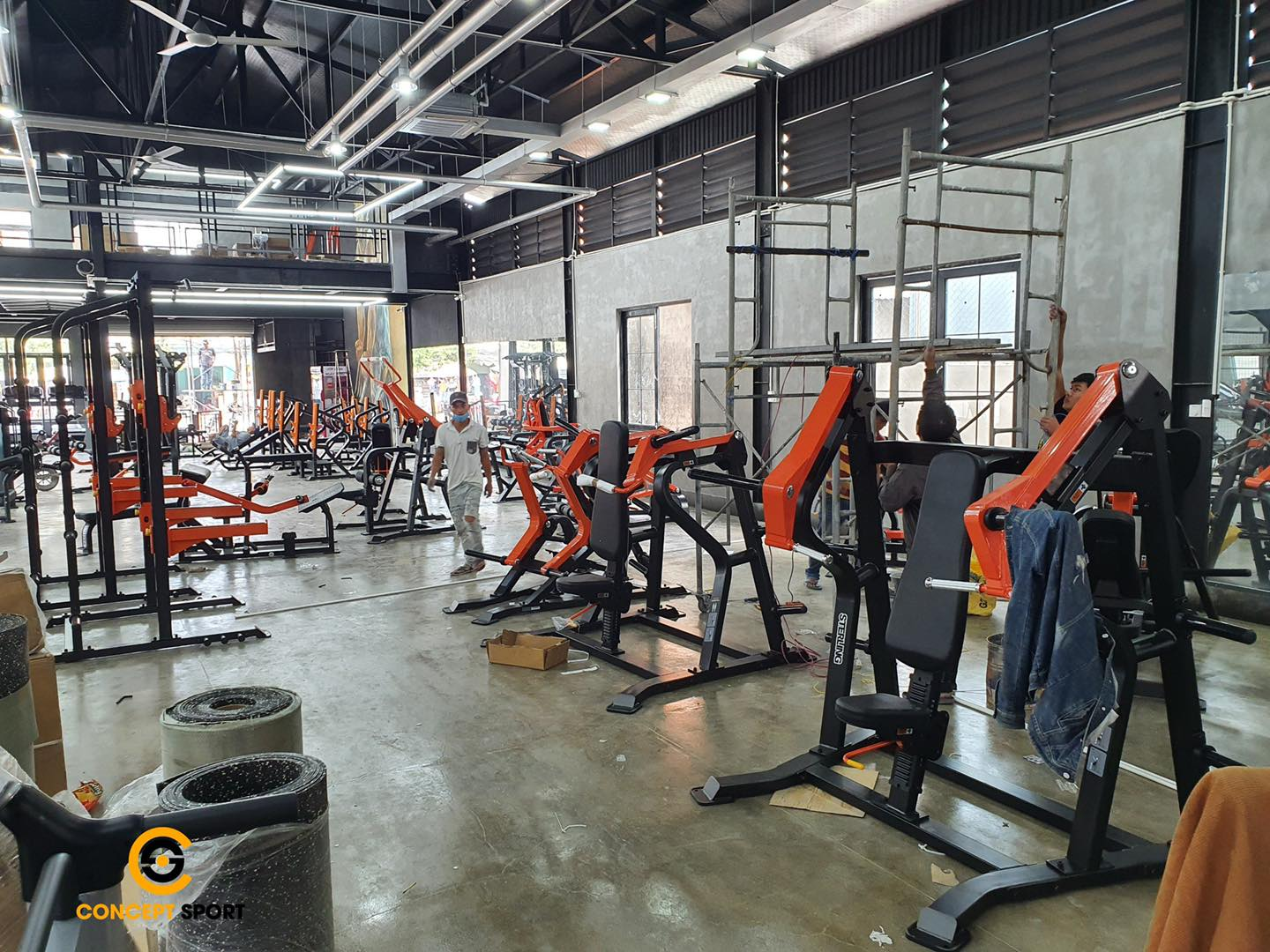 setup phòng gym OUR LATEST PROJECT - KIẾN GYM 4