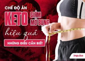 chế độ ăn keto giảm mỡ bụng