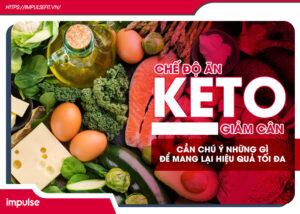 chế độ ăn keto giảm cân