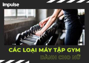 các loại máy tập gym cho nữ