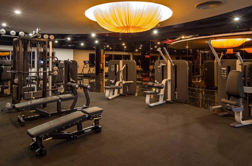 phòng gym 100m2;
